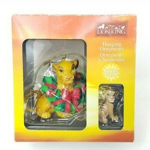 Walt Disney Lion King Hanging Ornament Enesco